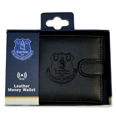 Everton RFID Embossed Leather Wallet
